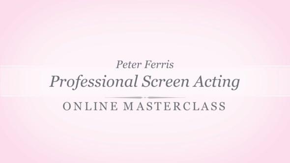 Peter Ferris - Online Masterclass (2018)